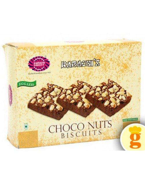 choco nuts biscuits