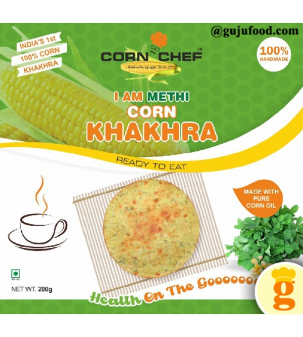 Methi corn khakhra 400gm