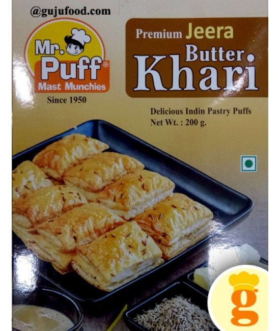 Jeera Butter Puff 200GM