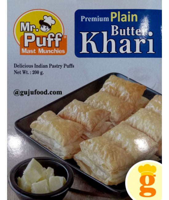 Plain Butter Puff 200GM