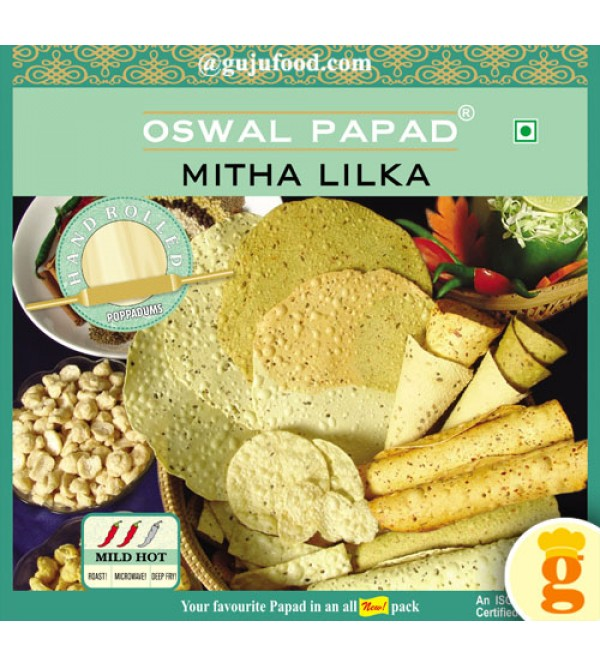 Meetha Lilka Papad 400gm