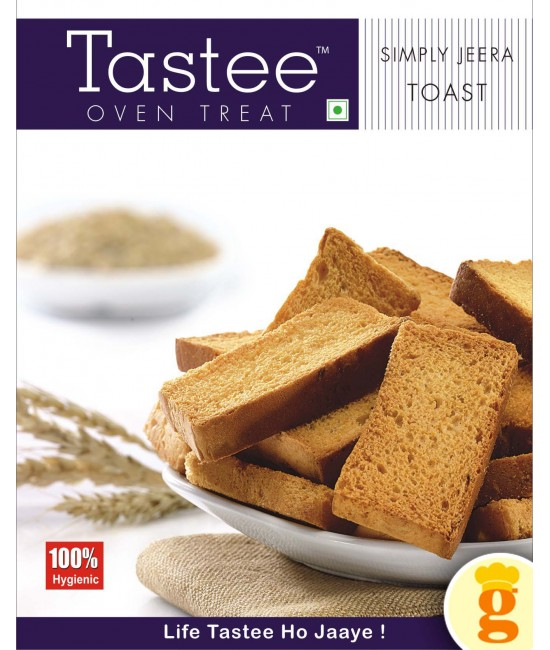Toast Simply Jeera 400GM
